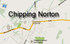 Chipping Norton Map