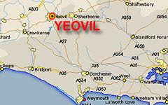 Yeovil map