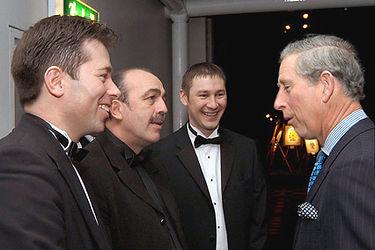 Team Magic with HRH Prince Charles