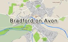 Bradford on Avon map