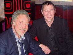 Magician Dorian with Tom Jones