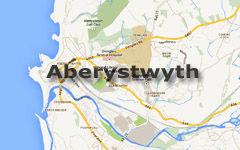 Aberystwyth Map