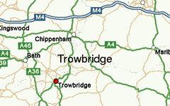 Trowbridge map