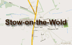 Stow-on-the-Wold map