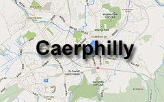 Caerphilly Map