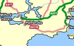 Pembroke map