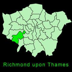 Richmond upon Thames map