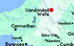 Llandrindod Wells map