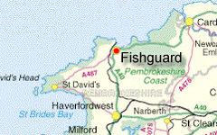 FISHGUARD map