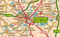 Stratford-upon-Avon map