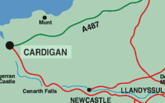 Cardigan Map