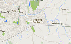 Chipping Sodbury Map