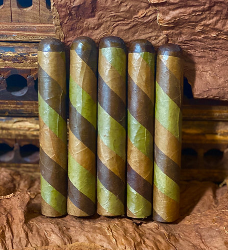 6 x 60 Candela Serpentine Triple Wrapper Gordo