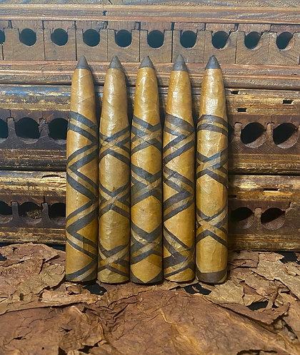 50 Cal Bullet 6 1/2x60 Triple X wrappers