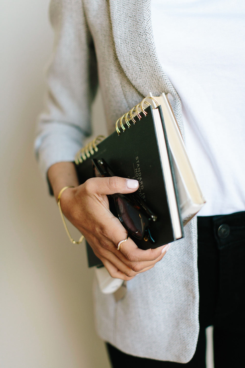 Small business lawyer Holding Books