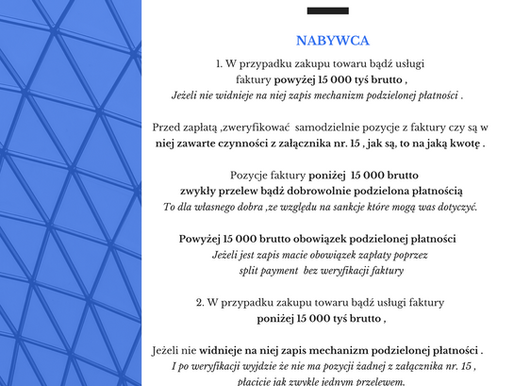 NABYWCA po 1 listopada 2019 roku.