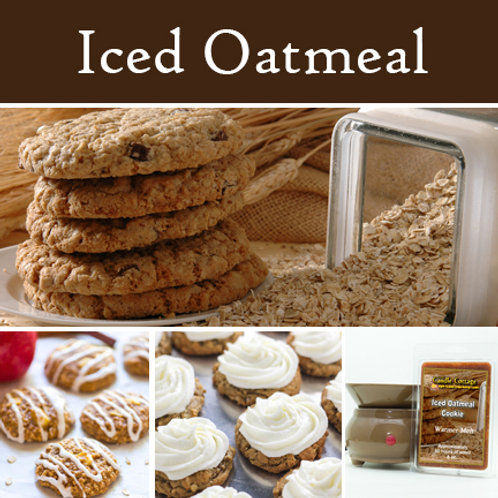 Iced Oatmeal Cookie