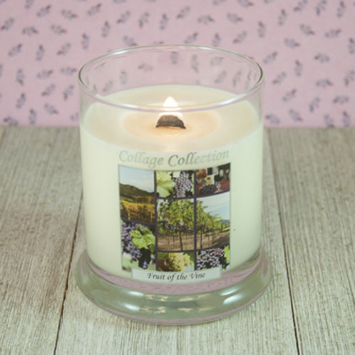 Fruit of the Vine Collage Candle