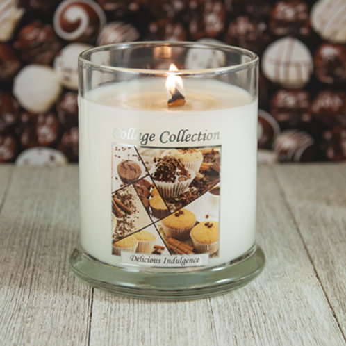 Delicious Indulgence Collage Candle