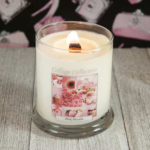 Pink Passion Collage Candle