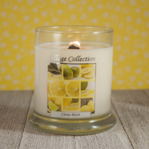 Citrus Burst Collage Candle