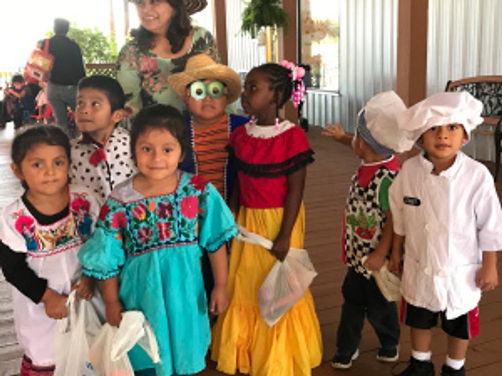 Head Start children at the ECMHSP Indiantown Center.