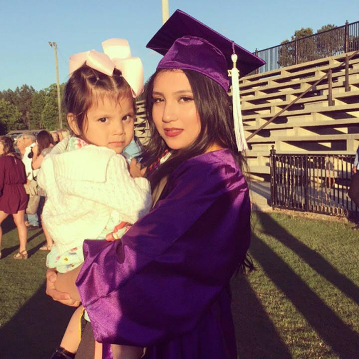 Maria's graduation