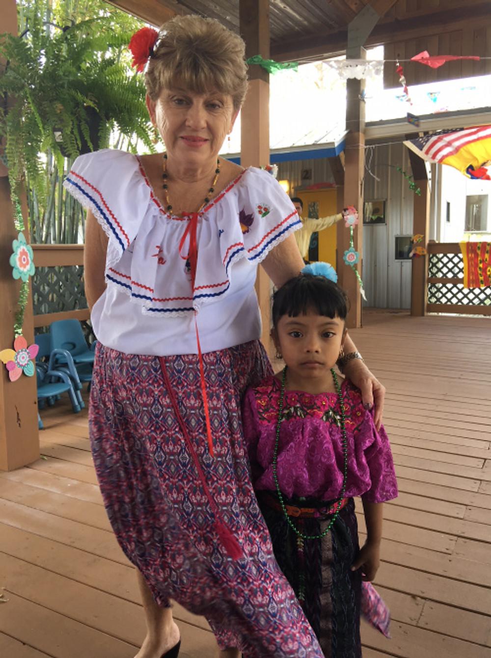 Floria and ECMHSP child