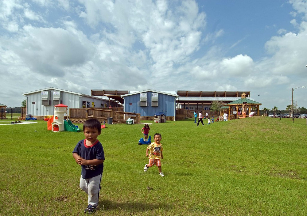 Ted Hoffman has been designing centers for farmworker children with ECMHSP for 12 years.