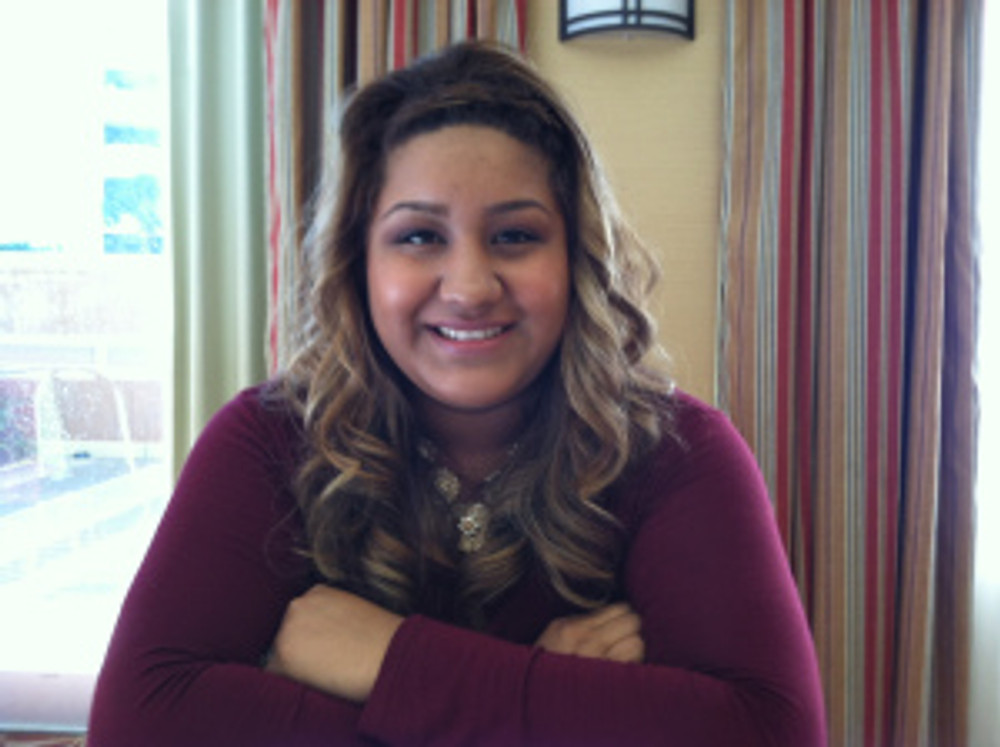 Photo of Jimina, Treasurer of the ECMHSP Policy Council and farmworker parent