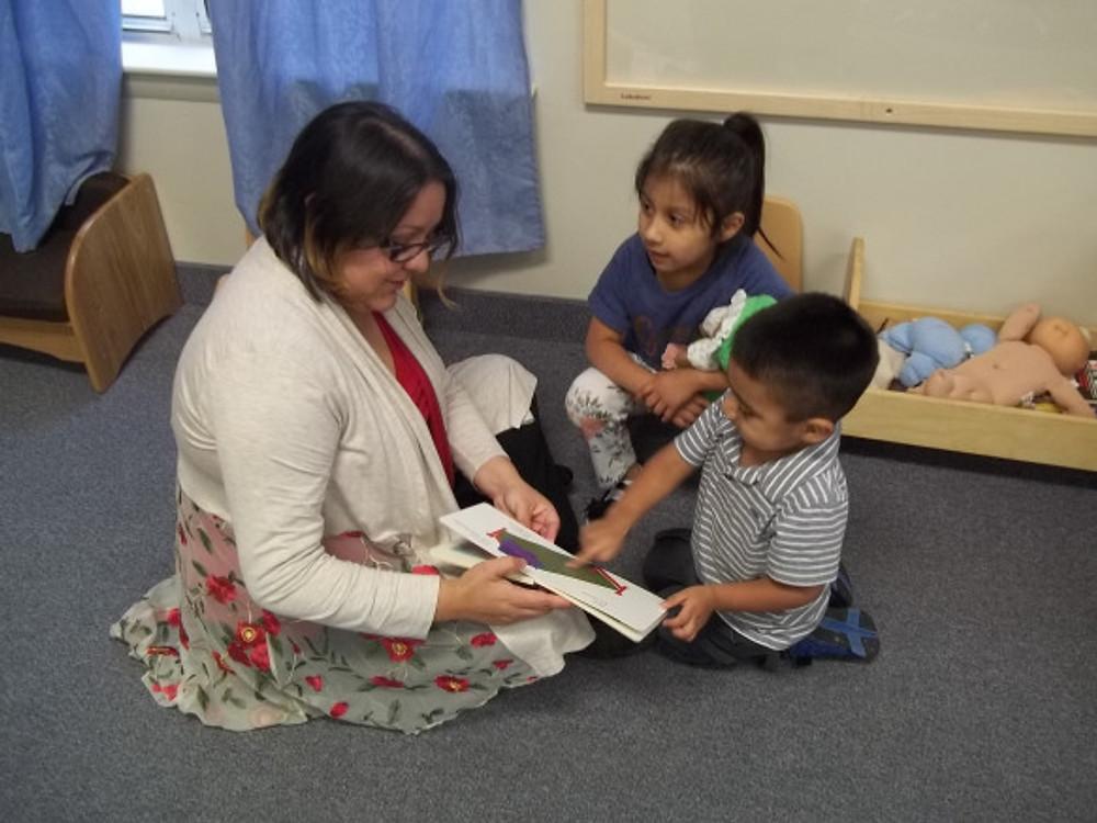 Photo 1-FSC reading a book