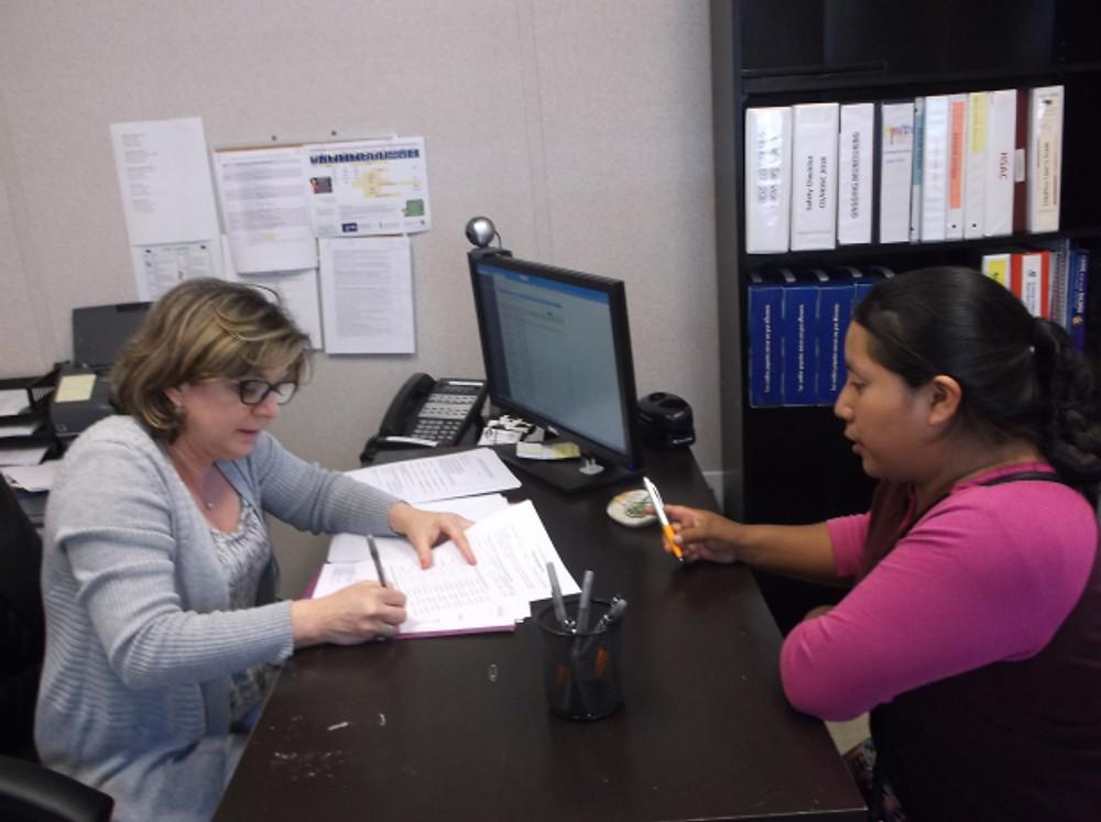 Blog Maria HDSC Filling Health forms