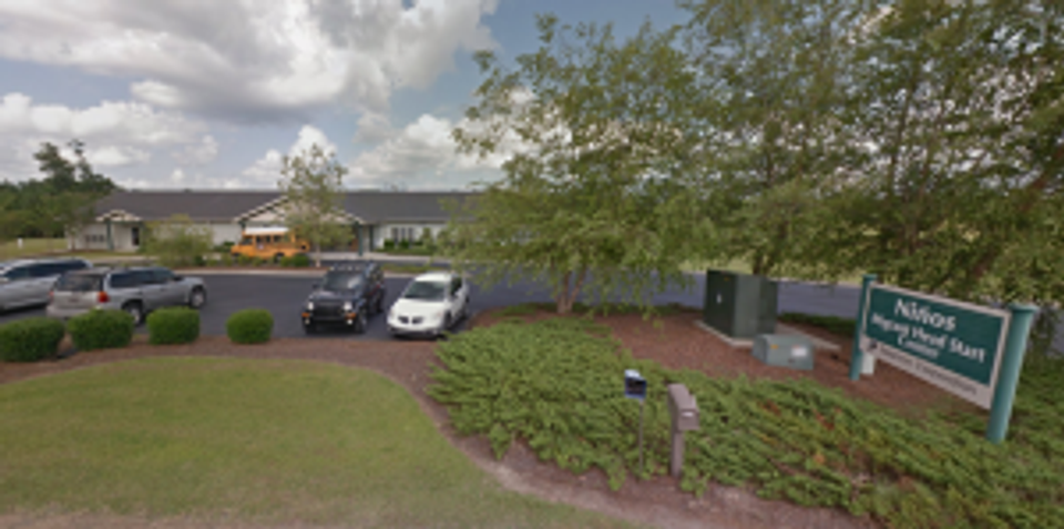 The Niños Migrant Head Start Center in Whiteville, North Carolina. Photo courtesy of Google Maps.