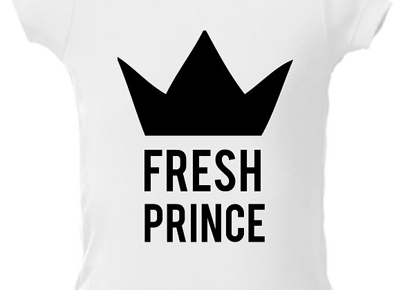 """FRESH PRINCE"" ONESIE"