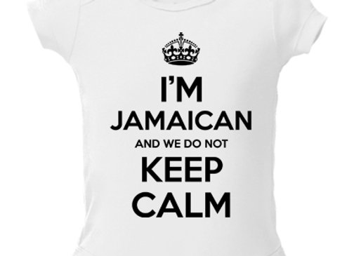 """KEEP CALM"" JAMAICAN"