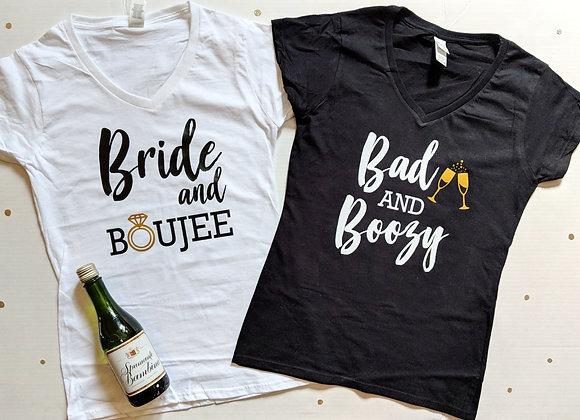 Boujee Bachelorette Shirts