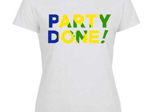 """""""PARTY DONE - ST. VINCENT"""" LADIES"""