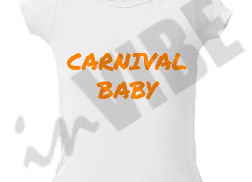 """CARNIVAL BABY"" ONESIE"