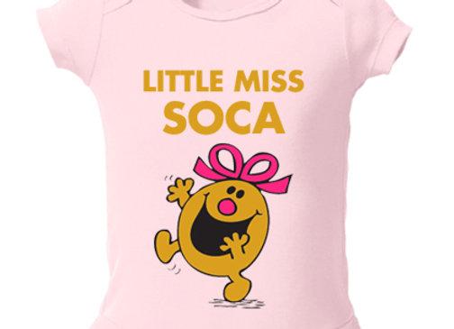 """""""LITTLE MISS SOCA"""" ONESIE"""