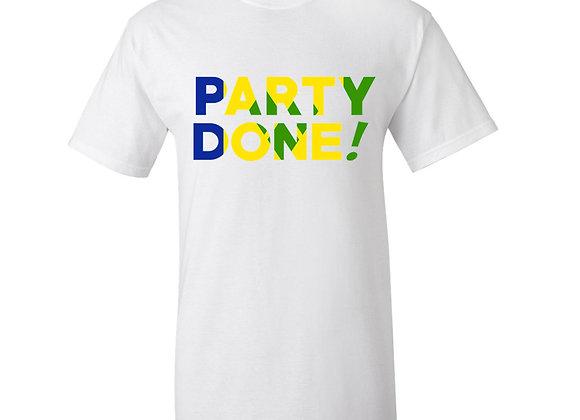 """""""PARTY DONE - ST. VINCENT"""""""