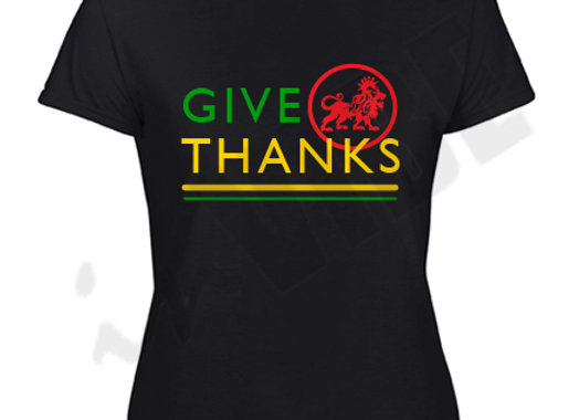 """GIVE THANKS"" LADIES"