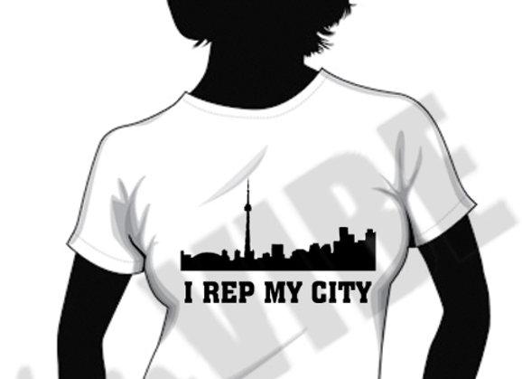 """""""I REP MY CITY"""" TORONTO (LADIES)"""
