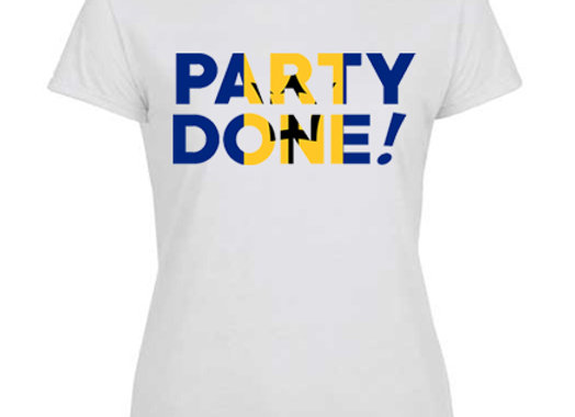 """""""PARTY DONE - BARBADOS"""" LADIES"""