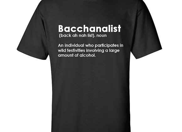 """BACCHANALIST DEFINITION"""