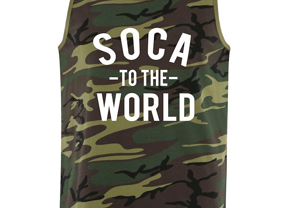 SOCA TO THE WORLD mens