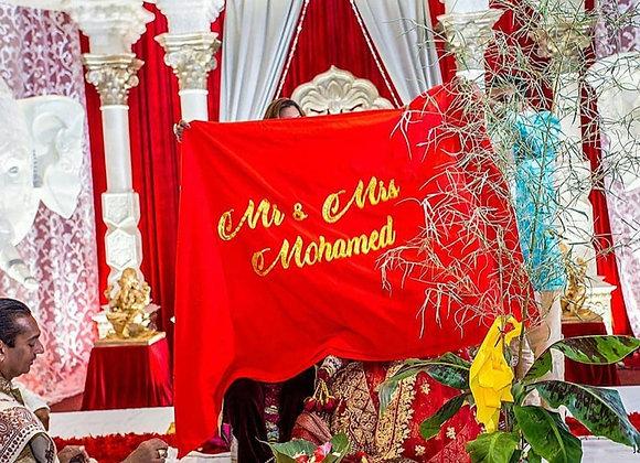 Red Sindoor Hindu Ceremony Cloth