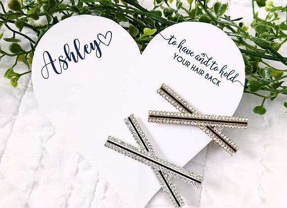 Hair Pin Cards