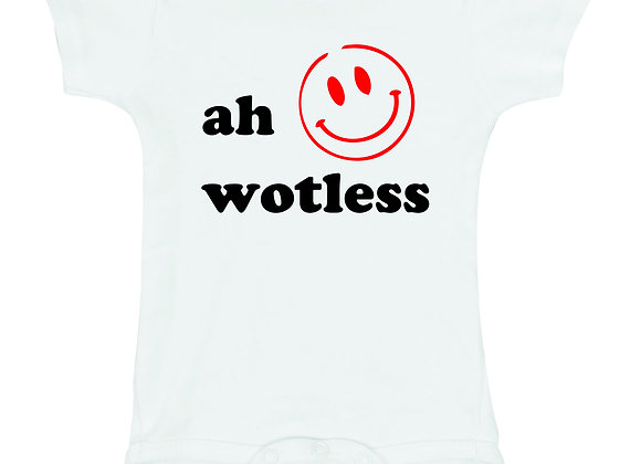 """AH WOTLESS"""