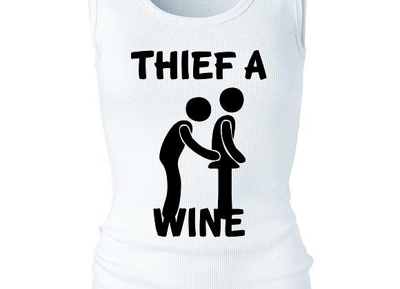 """""""THEIF A WINE"""" TANK"""