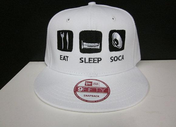 """EAT SLEEP SOCA"" SNAPBACK"